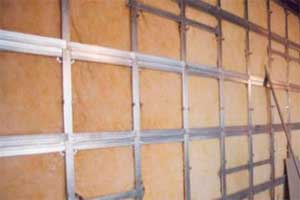 Утепление стены из гипсокартона