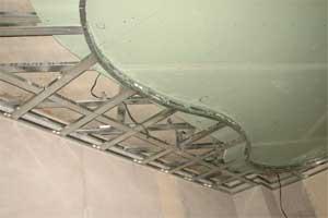 Монтаж гипсокартона на потолок