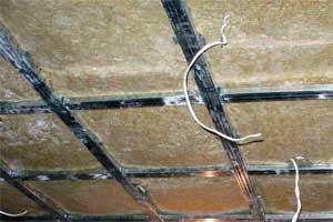 Подконтрукция для гипсокартона на потолок